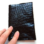 DIY Leather Passport Cover