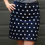 Polka-Dot Skirt