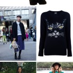Street Style Trend: Cat Sweaters?