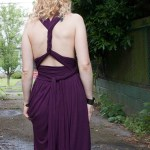 DIY Infinity Maxi Dress Details