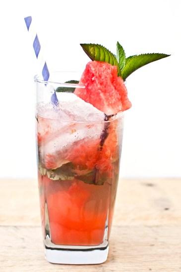 Watermelon Mojito Cocktail Recipe