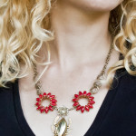 DIY Re-Styled Collage Necklace