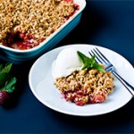 Strawberry Rhubarb Crisp Recipe (Gluten-Free)