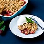 Strawberry Rhubarb Crisp Recipe (Gluten-Free)
