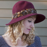 DIY to Try: Feathered Brim Hat Makeover