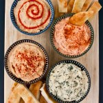 Party Idea: Hummus Flight