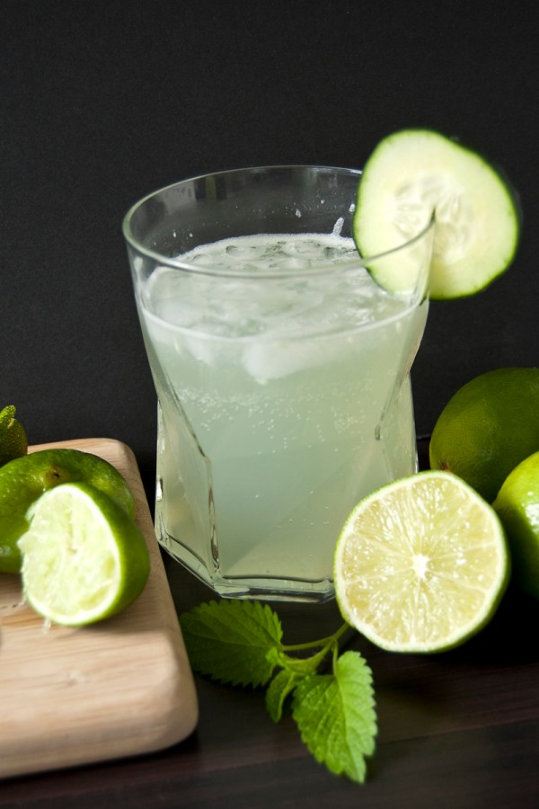 Cucumber Lime Cooler Cocktail
