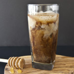 Almond Honey Cold-Brewed Coffee