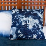 Faux Shibori Pillows
