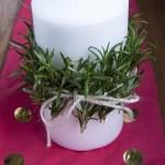 DIY Holiday Candle
