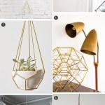 DIY Inspiration: Geometric Shapes Decor