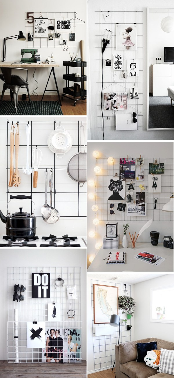 DIY Inspiration: Metal Grid