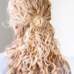 DIY Circle Hair Holder