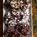 Miso Almond Chocolate Bark