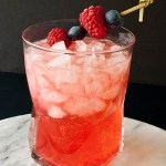 Berry Smash Patriotic Cocktail