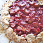 Raspberry and Rhubarb Crostata