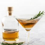 Rosemary-Infused Vodka Martini Recipe