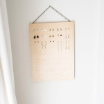 Make a DIY Stud Earring Rack