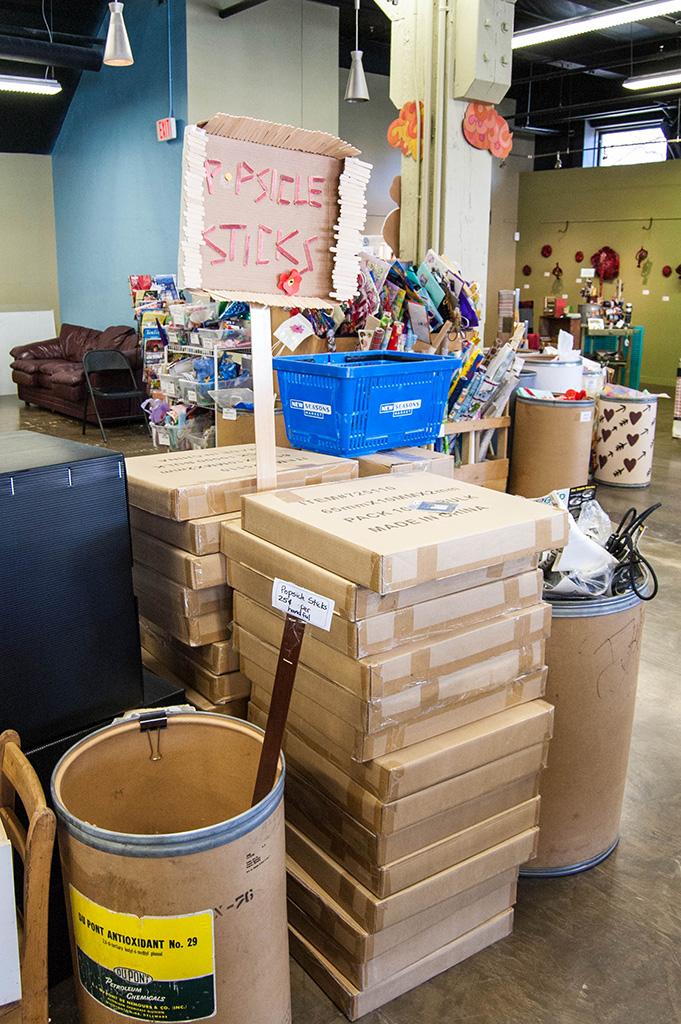 Portland art supply shop Scrap