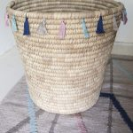 DIY Tassel-Trimmed Basket