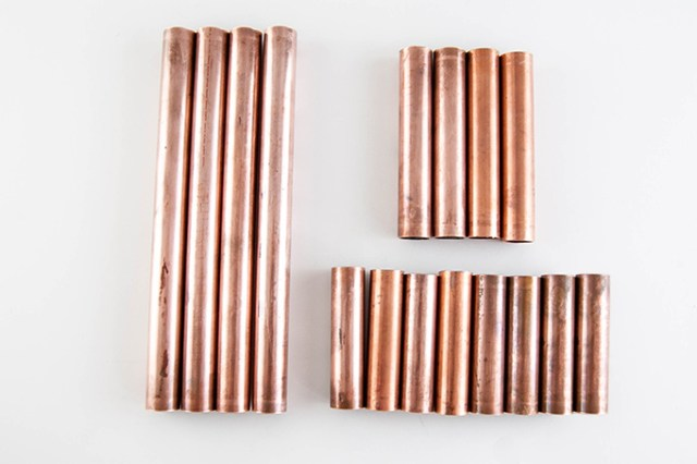DIY Copper Plant Stand