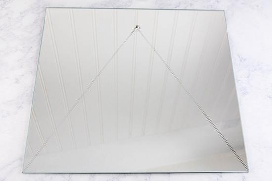 triangle mirror-16