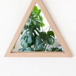 DIY Triangle Mirror