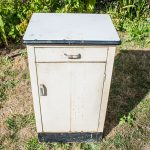 Bathroom Makover: Vintage Medical Cabinet Before