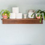 How to Make a Simple Shelf Ledge
