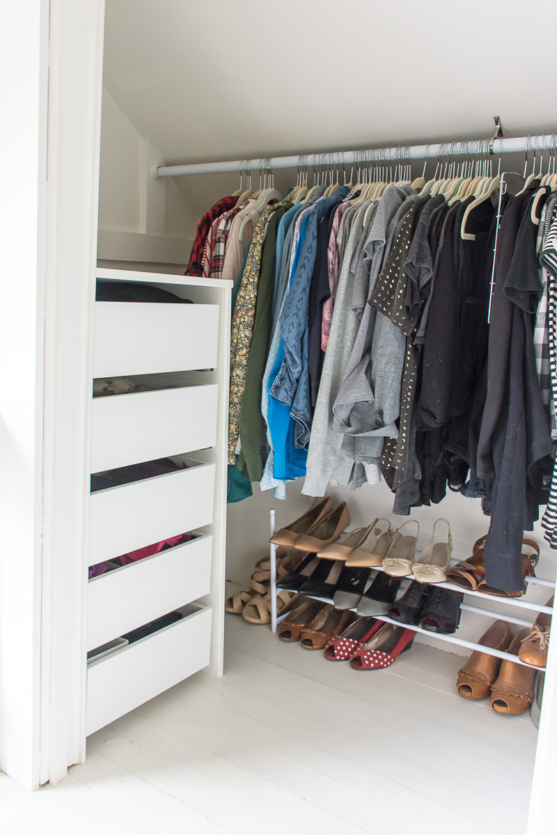 Ikea Hack: How To Add Ikea Drawers To A Non Ikea Closet