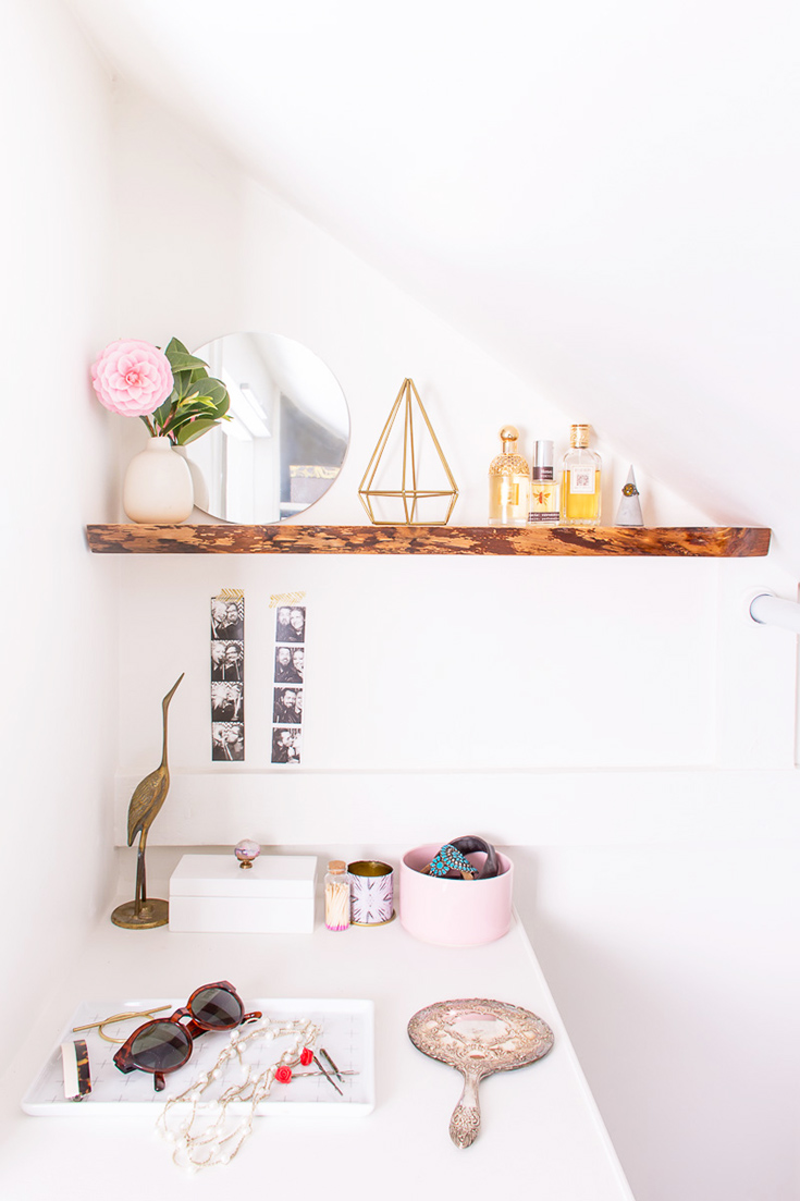 Learn How To Hang Solid Wood Floating Shelves, Perfect For Hanging  Live Edge Shelves
