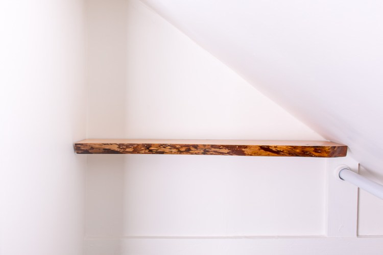 How To Hang Solid Wood Floating Shelves Gorgeous How To Do Floating Shelves