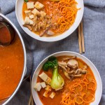 Spicy Curry Sweet Potato Noodle Ramen