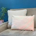 Placemat Pillow Cover Conversion