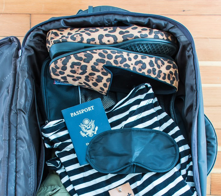 Tips for packing light