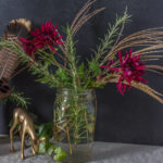 Easy Last-Minute Foraged Thanksgiving Table Decor