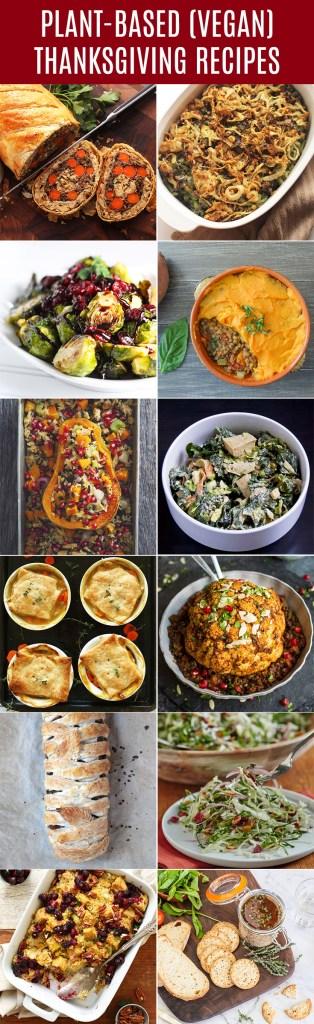 Plant-based vegan Thanksgiving recipe ideas everyone can enjoy.