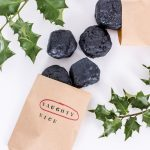 DIY Lump of Coal Soap Stocking Stuffer