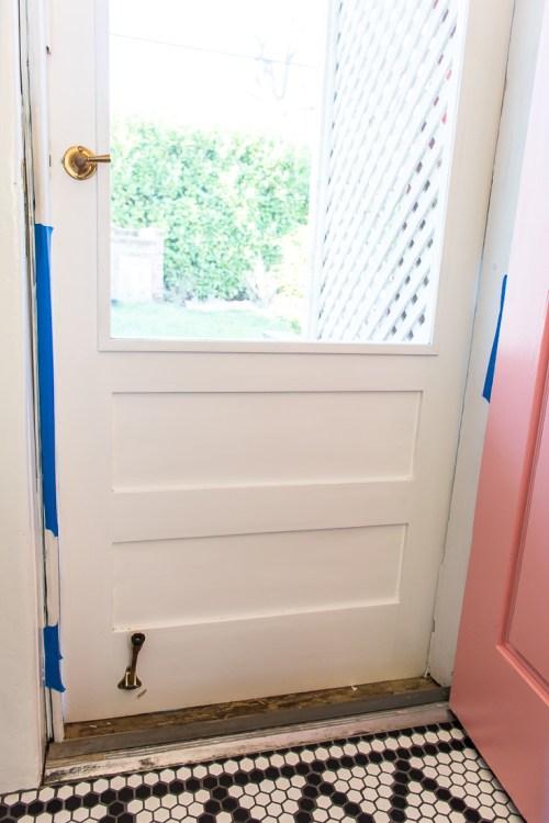 Door painting tips