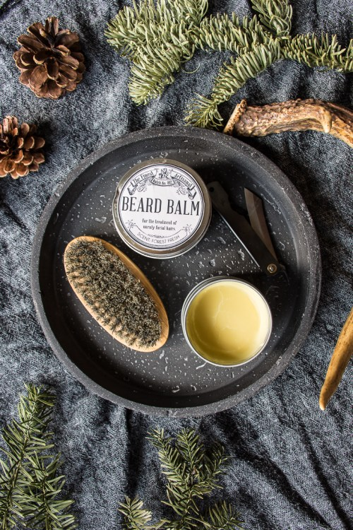Make this DIY beard balm as a gift for all of the bearded men in your life. #grooming #men #beards #ValentinesDay #gift