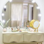 Turn a Desk into a Makeup Table