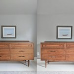 DIY dresser before-and-after