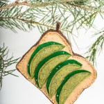 DIY Scandi Minimalist or Avocado Toast Christmas Ornaments