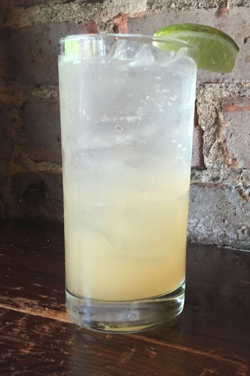 Virgin paloma mocktail