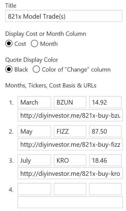 stock portfolio wordpress plugin