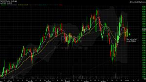 DIY Investor - 821x Model Trade - chart of PLMR