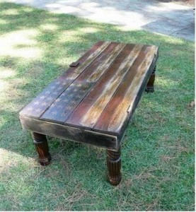 diy furniture projects | upcycling projects with reclaimed wood