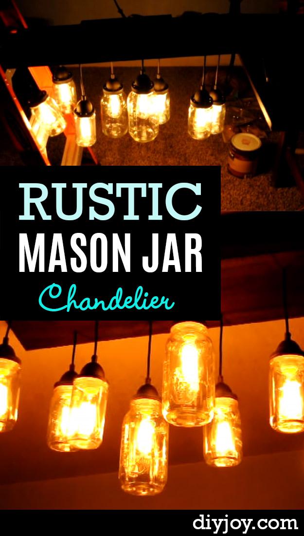 32 DIY Mason Jar Lighting Ideas To Brighten Your World