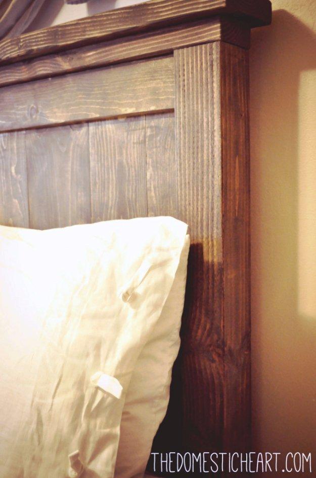31 DIY Headboard Ideas For Your Bedroom