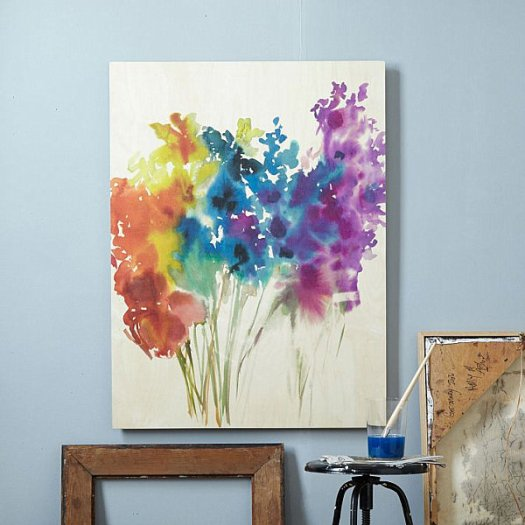Diy Canvas Painting Ideas Abstract Flowers Cool And Easy Wall Art